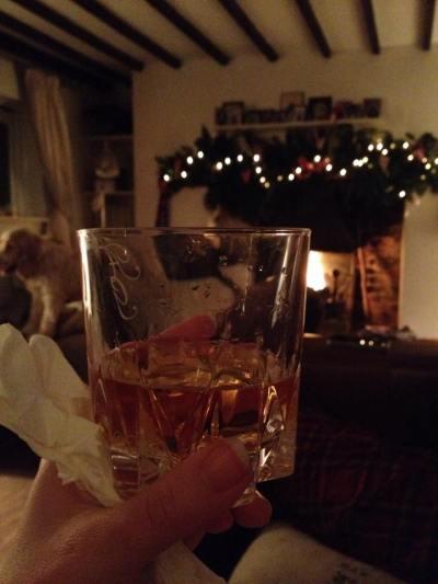 A medicinal whisky!