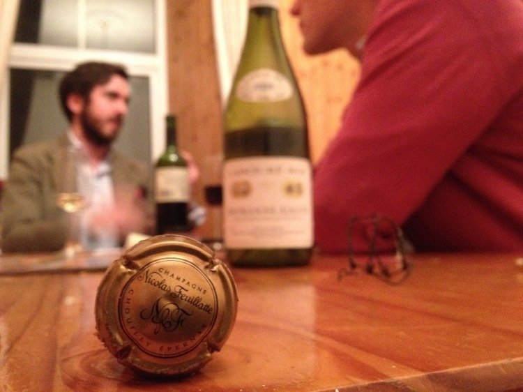 Good friends, good wines...