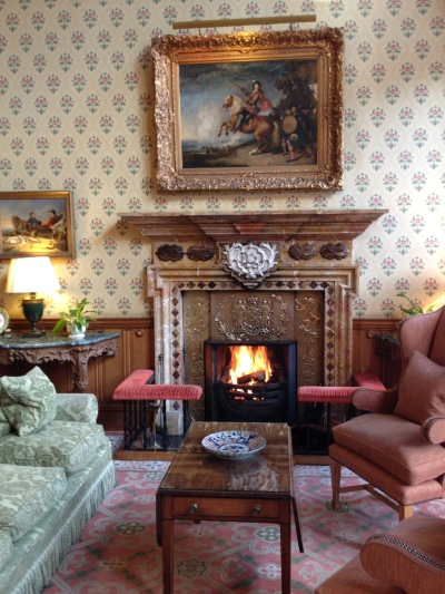 Crackling fires and cosy cushions