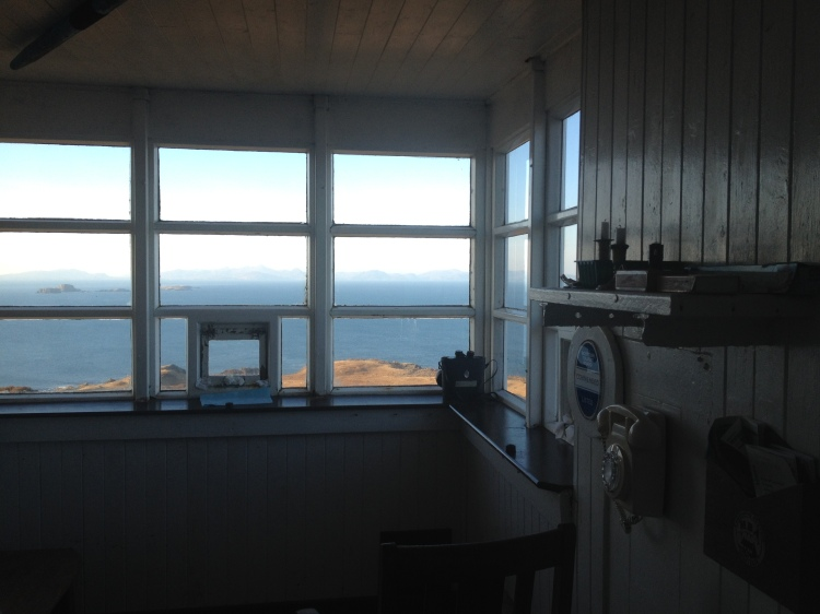 Overlooking the Minch