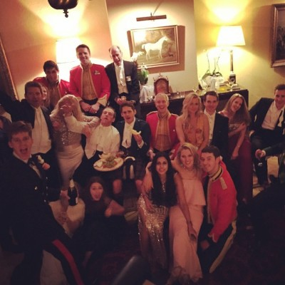 5am survivors photo at the Duchess of Richmond's Ball, Germany