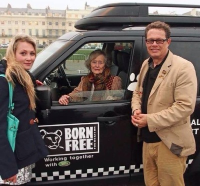Meeting the ever-inspiring Virginia McKenna and Will Travers of Born Free at Whalefest 2014