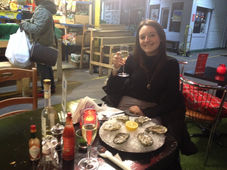 Celebrating my sister's 21st birthday with a night out in Brixton Village