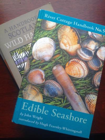 Some of my favourite foraging books