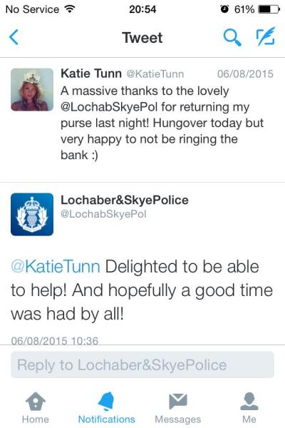 Friendly (and social media savvy) local police