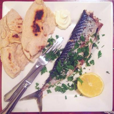 Grilled with homemade flatbreads